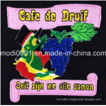 Fruit Embroidery Badge Garment Accessary