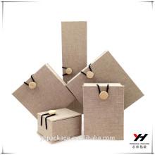 2016 noël design de haute qualité emballage cadeau luxe boîte à bijoux