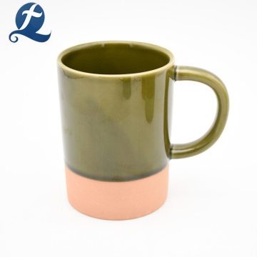 Los fabricantes de China marca la taza de cerámica coloreada de la taza de café