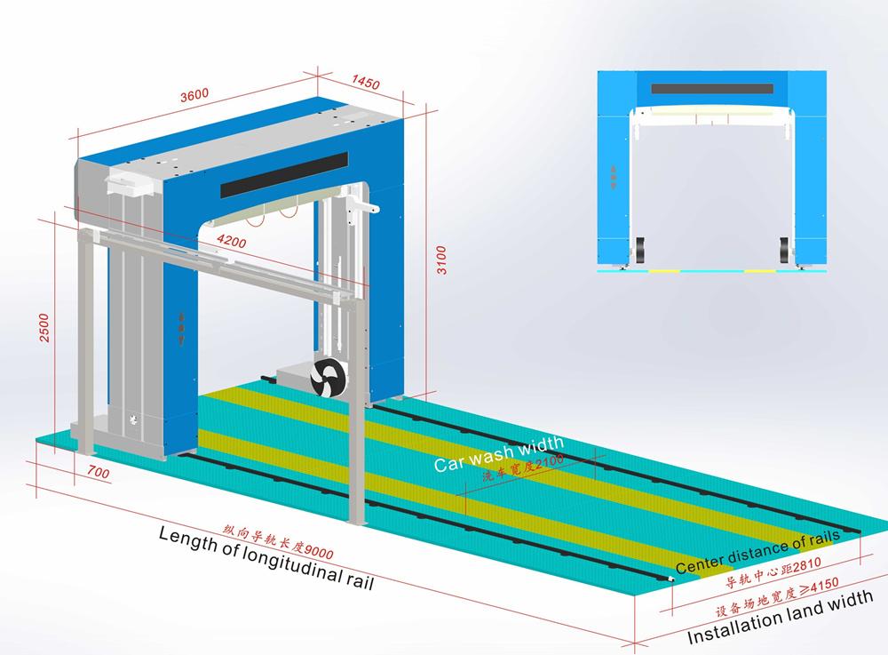 leisuwash DG 3D drawing