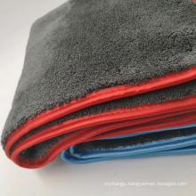 1200gsm Gray Color Microfiber Towels Car Buffing Detailing Wash Towels