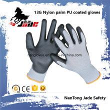 13G Gary Lind Palm Black Gant en cuir revêtu de PU
