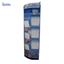 Multi-tier cardboard stationery pen display rack