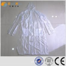 SUNNYHOPE imperméable en PVC pour hommes pleine longueur