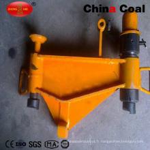 Cintreuses de rail hydrauliques portatives verticales Kwcy-600