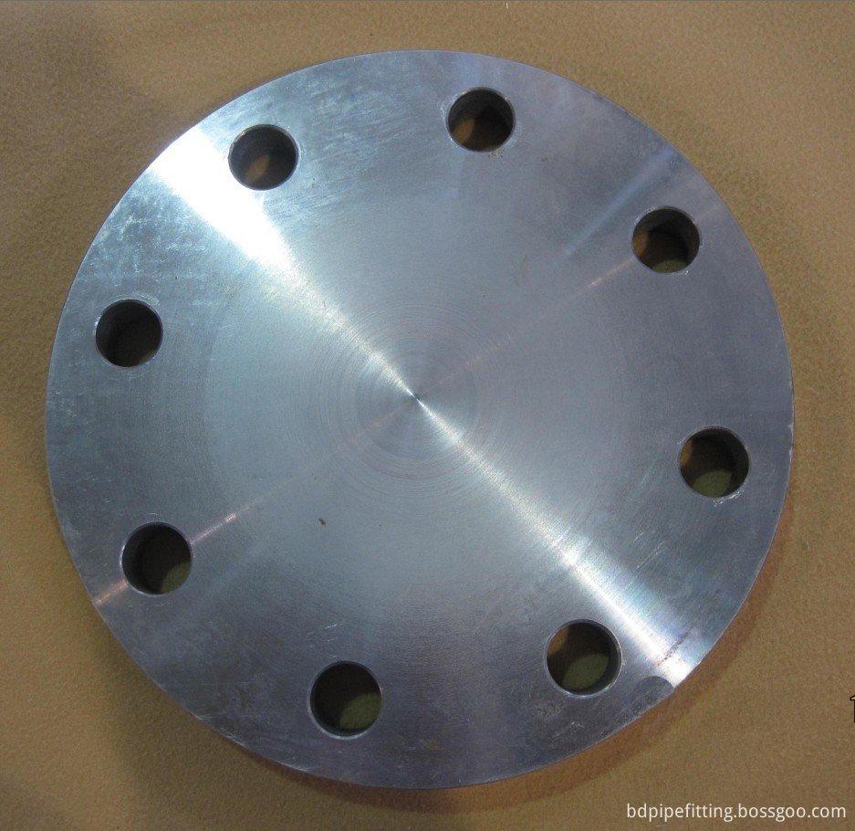 ASTM A105 Carbon Steel Blind Flange, RF, 600LB