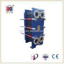 Chauffe-eau en acier inoxydable de Chine, refroidisseur d'huile hydraulique Alfa Laval M10B remplacement
