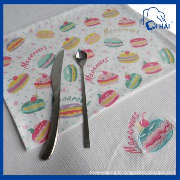 Serviette de cuisine Macarons Print (QHK00111)