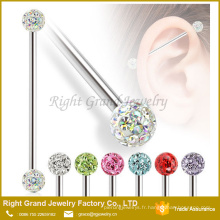 Nouveau design Piercing bijoux en acier inoxydable