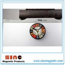 Retro Reminiscence Europäischen Gefälschte Kühlschrank Magnetic Clock