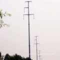 110 kV Linear Power Transmission Steel Pole