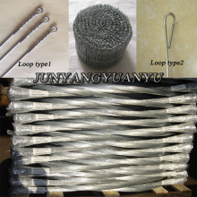 Galvanised Bale Ties catton bale tie wire