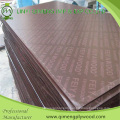 High Waterproof Quality Film Faced Plywood with Black and Brown Color