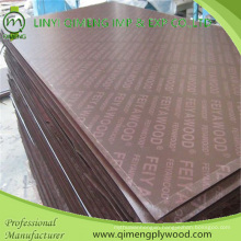 Waterproof Glue Poplar Core 13.5mm Shuttering Plywood for Construction