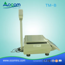 (TM-B) China new design weighing scale label printing barcode printing