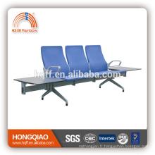 L-A051 2017 nouveau modèle haut quanlity revêtement en poudre base et accoudoir chaise publique
