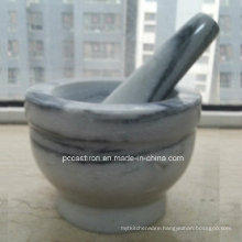 Marble Stone Mortars and Pestles Manufacturer From China Size 14X10cm