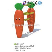 Art Karottenhandtuch selbst