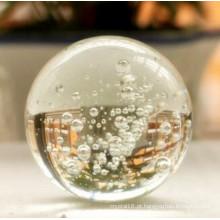 Artesanato de cristal requintado na moda bola de fonte de cristal