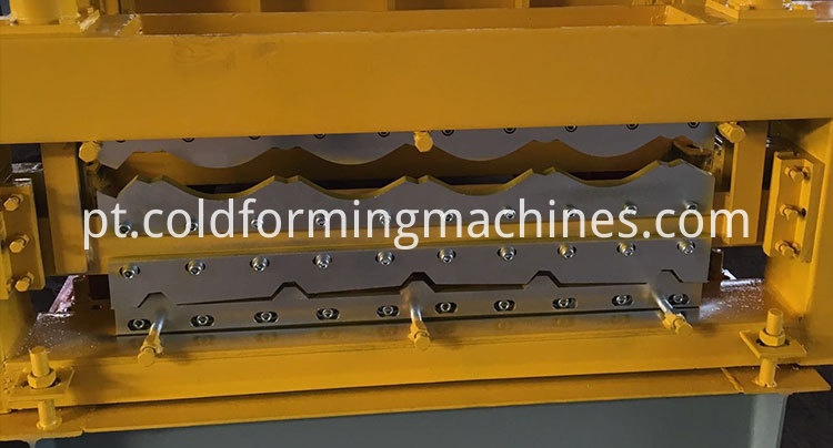 double layer roll forming machine 7