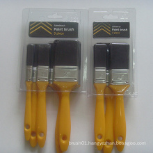 Plastic Handle Black Bristle Paint Brush (YY-609)