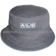 Промытый Хлопок Twill Вышивка Досуг Рыбак ведро Hat (TMBH03776-1)