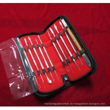 Dental Lab Kit Wax Carving Werkzeug Set