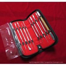 Dental Lab Kit Wax Carving Tool Set