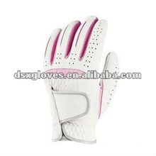 female white cabretta leather golf glove