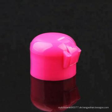 24/410 rosa Farbe Kunststoff Material Kappe Flip Top