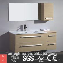 Design de gabinete de banheiro moderno popular