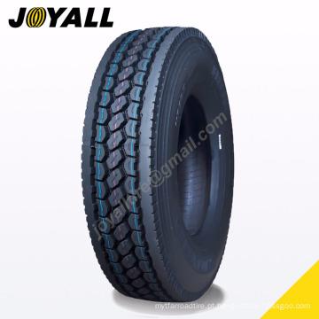JOYALL fábrica chinesa TBR pneu A878 super sobre a carga e resistência à abrasão 295 / 75r22.5 para o seu caminhão