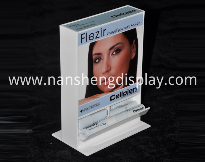 Advertising Commercial Makeup Cosmetics Lipsticks Display Showcase
