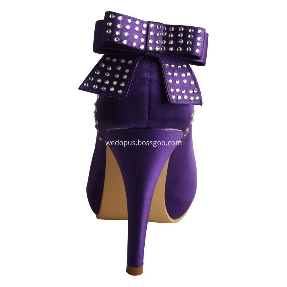 wedding shoes purple