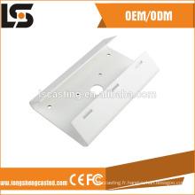 Support en aluminium de couleur blanche pour caméra de sécurité CCTV
