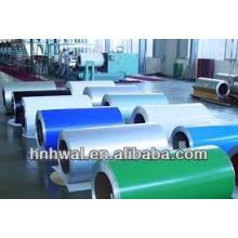 PE y PVDF Bobina de aluminio recubierta de color 1100 3003 3105 5052.