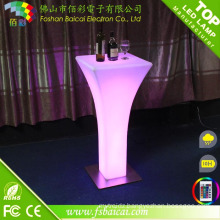 Outdoor Bar LED Cocktail Table Garden Frunitrue