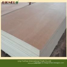 Contrachapado de cara dura de madera dura de álamo Linyi Supplier