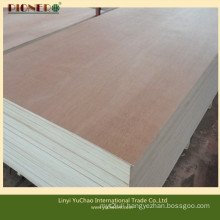 Poplar Core Red Hardwood Face Plywood Linyi Supplier