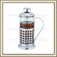Edelstahl-französische Presse Kaffeemaschine