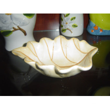 Ceramic Leaf Shaped Dish Small Plate