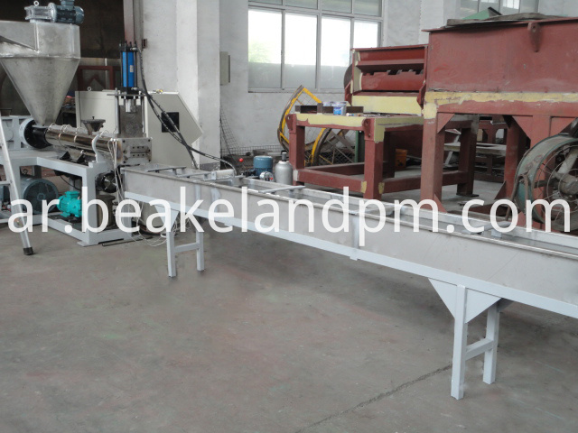 ABS pelletizing recycling machine