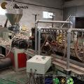 Leistungsfähige hölzerne Plastikzusammengesetzte Decking- / Umhüllungsfertigungsstraße