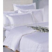 Cheap popular hotel conjunto de cama de algodão