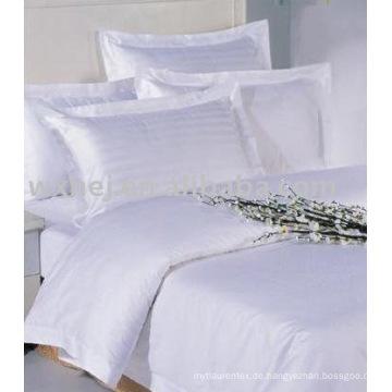 Billiges beliebtes Hotelbettwäsche-Set aus Baumwolle