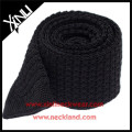2015 Fashion Straight Cut Ends Knit Silk Men Neck Tie