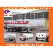 Reboque de tanque de combustível de liga de alumínio Reboque de tanque de combustível de aço inoxidável Reboque de tanque de óleo