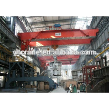 usine en plastique utilisé pour ponts roulants pour le levage de grue de moules pour aciérie