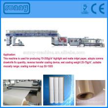 Máquinas profissionais fabricante inkjet tipo extrusão revestimento de papel máquina de estratificação