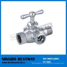 Válvula de inodoro de latón Válvula de ángulo de lavado de 4 vías (BW-A45)